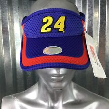 Chase Authentic 24 Nascar Hendrick Motorsport Sun Visor Blue Red Cap Hat NEW