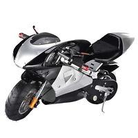 250W 24V Motor Electric Mini Off-Road Pocket Bike Racing Motorcycle 10 Miles