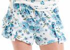 PETER ALEXANDER PJS Womens Floral Side Ruffle Frill Shorts Sz XS/S/M/L BNWT PJ