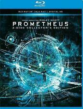 Prometheus 3D Blu-Ray + 2D + Digital 3 Disc Set Alien Predator Ridley Scott NEW