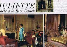 COUPURE DE PRESSE CLIPPING 1964 Juliette Gréco  (2 pages)