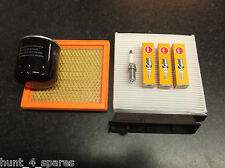 NISSAN NOTE (E11) 1.4 SERVICE KIT OIL AIR CABIN FILTERS NGK SPARK PLUGS