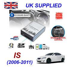 For Lexus IS MP3 SD USB CD AUX Input Audio Adapter Digital CD Changer Module