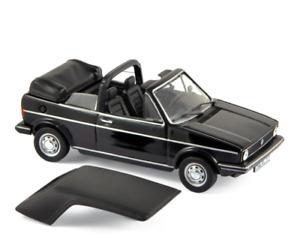 1/43 Norev VW Volkswagen Golf Cabriolet 1981 Black Neuf Boite Livraison Domicile