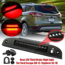 Smoke Rear 3rd Third Brake Light High Mount Stop Lamp For Ford Escape  I I