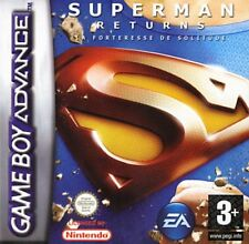 SUPERMAN RETURNS GAME BOY ADVANCE JEU NEUF SOUS CELLO