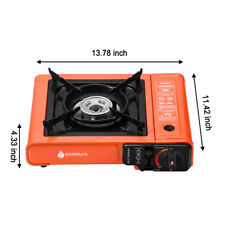 Mini Portable Outdoor Camping Butane Gas Stove 8000BTU with Carrying Case