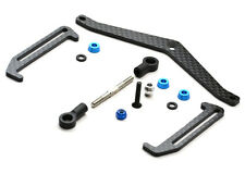 Exotek Racing 1706 B6 Carbon Fiber Battery Cup & Strap Set