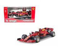 Bburago 1:43 Ferrari Racing 2020 F1 F1000 Tuscan GP #16 Charles Leclerc 36823CL