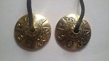 Tibetan Bronze Tingsha Meditation Cymbals Bells  from Nepal