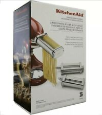 KSMPRA Pasta Roller Attachments for Most KitchenAid Stand Mixers-Stainless-Steel