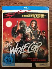 Leo fafard,WolfCop ~ 2014 Werewolf policías Culto Horror Alemán Blu-ray con /