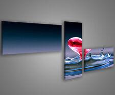Quadri moderni astratti 180 x 70 stampe su tela canvas con telaio MIX-S_149