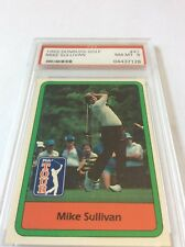 1982 Donruss Golf Mike Sullivan #41 PSA 8