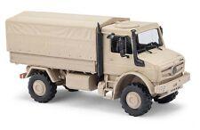 Busch 51020 - 1/87/h0 Mercedes-Benz Unimog u 5023 militares-colores de arena-nuevo