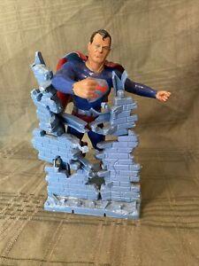 Original Aurora DC Comics Superman Plastic Model Kit 1964 BUILT-UP