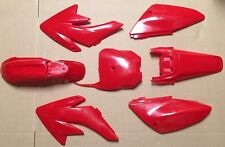 Honda CRF 70 CRF70 CRF70F Plastic Fairing Fender Body Kit - Red