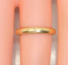 Rare Antique 22K Yellow Gold PEACOCK Chicago Women's Wedding Band/Ring Size 4.5