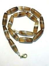 A beautiful 900 years old Pre Ankor carnelian beads necklace from Combodia