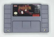Final Fantasy 3 SNES Super Nintendo Game copy new Super Nes