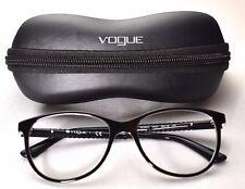 Vogue VO 5030 W827 Eyeglass/Glasses Frames Black/Transparent 53-16-140