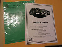 MERIT XL TOUCHSCREEN   arcade  game manual