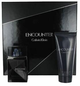 Encounter Calvin Klein 50ml edt + Hair & Body Wash Gift Set Men (Slightly Scratc
