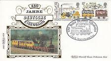 (03814) GB Benham Cover trains Allemagne Deutsche Eisenbahn Newcastle 7 DEC 1985
