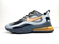 Nike Air Max 270 React Winter Shoes Grey Orange UK 10 EUR 45 US 11 CD2049 006