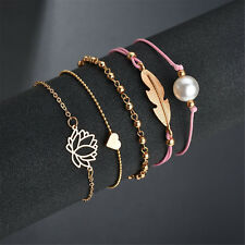 Wholesale Metal Friendship Bracelet Handmade Cuff Bangle New Jewelry Crafts 5pcs