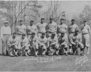 Homestead Grays (Josh Gibson) 1930 - Negro League, 8x10 B&W Team Photo