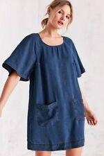 Cooperative Chambray Raglan Sleeve Denim Dress size Large
