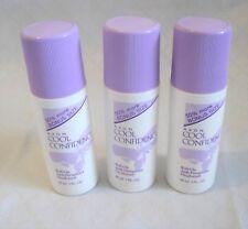 Vtg 1997 AVON COOL CONFIDENCE Anti-Perspirant Set,Roll-On Deodorant,Big Size Lot