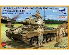 BRONCO MODELS CARRO LEGGERO AMERICANO M-24 CHAFFEE WWII  Scala 1:35 Cod.CB35069