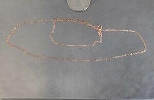 CrazieM 925 Silver Vintage Southwest Estate Necklace 17-17.75 1g x05