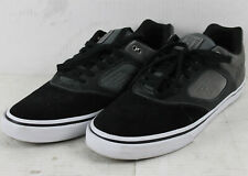 Blem Emerica Skateboard Shoes Reynolds 3 G6 Vulc Black/Dark Grey/Grey Size 12
