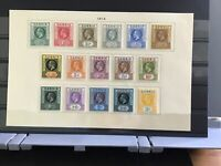 Gambia 1912 mounted mint stamps R29722
