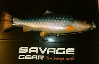 savage gear 3d craft trout pulse tail 16cm roach ready to fish lure ltd edition