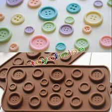 Botones de flor de silicona molde de la decoración de la cocina DIY