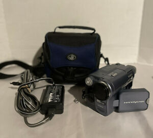 SONY CCD TRV-128 Hi8 VIDEO CAMERA TESTED WORKING w/ CHARGER + BATTERY + CASE