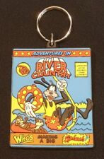 DISNEY ADVENTURES IN RIVER COUNTRY LASER CUT KEY CHAIN COLLECTABLE - GOOFY NOS