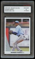 WANDER FRANCO 2020/20 LEAF VALUE BOX 1ST GRADED 10 ROOKIE CARD RC TAMPA BAY RAYS