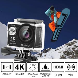 AKASO EK7000 4k WIFI Outdoor Sport Action Camera Ultra HD Waterproof DV Camcorde