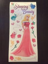 Disney Princess Scrapbooking Sticker Sheet 12x5 Sandylion Sleeping Beauty Aurora