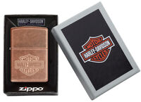 ZIPPO Feuerzeug Harley Davidson Copper Design - Neuheit 2020 - 60004742