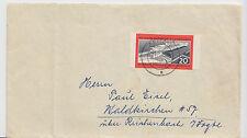 DDR - MiNr. 805 B, geschnitten auf Bedarfsbrief - 16.12.60 - ZEITZ !!