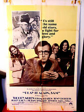 Play It Again Sam 1972 Good used Original US One Sheet movie poster Woody Allen
