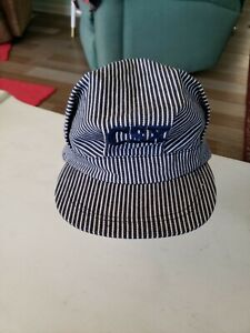 CSX RAILROAD ENGINEER HAT/ CAP SNAP BACK  ONE SIZE  ADJUSTABLE****NWOT*****