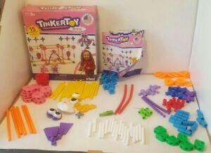 Tinker Toy Pink Building Set