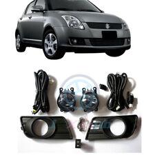 Bumper Bezels Fog Lamps Lights w/ Harness Kit j For Suzuki SWIFT 2007 08 09 2010